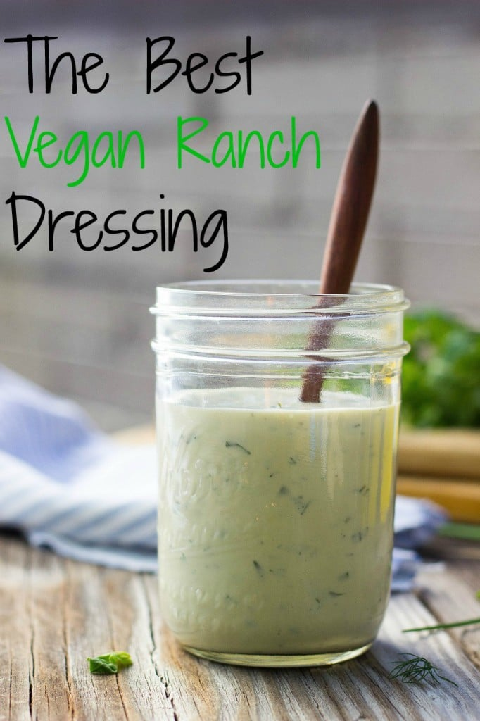 The Best Vegan Ranch Dressing-image