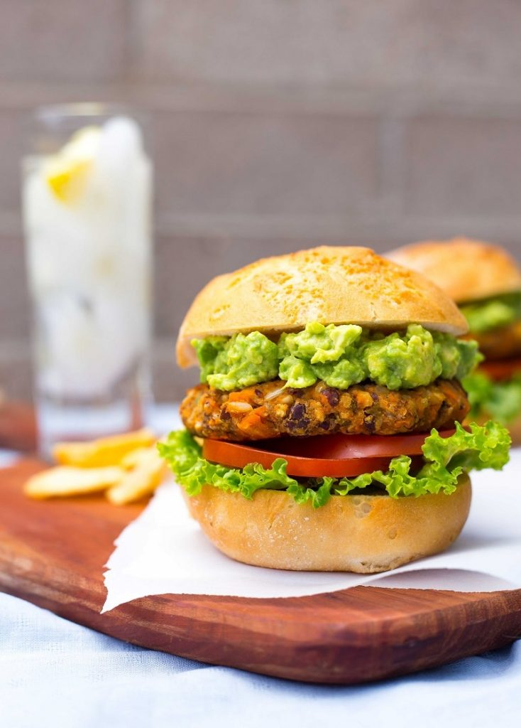 Green Chili and Sweet Potato Veggie Burgers-8753
