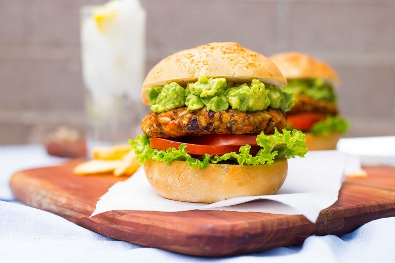 Green Chili and Sweet Potato Veggie Burgers-8799