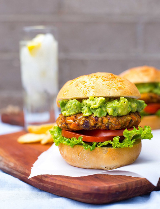 Green Chili and Sweet Potato Veggie Burgers-8828