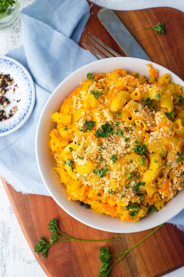 Macaroni and Cheese with Shredded Carrots + Cookbook Review