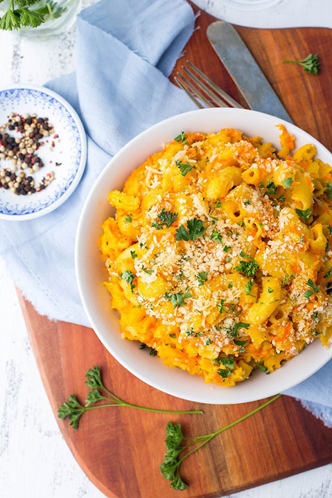 Macaroni and Cheese with Shredded Carrots-6827