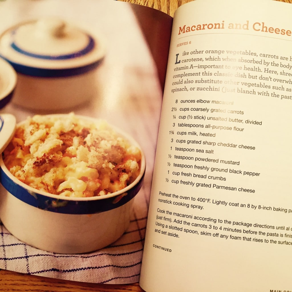 Macaroni and cheese with shredded carrots cookbook review she while there are plenty of other ways besides carrots this book has lots of great lists on foods to eat including a few my of favorites avocados forumfinder Images