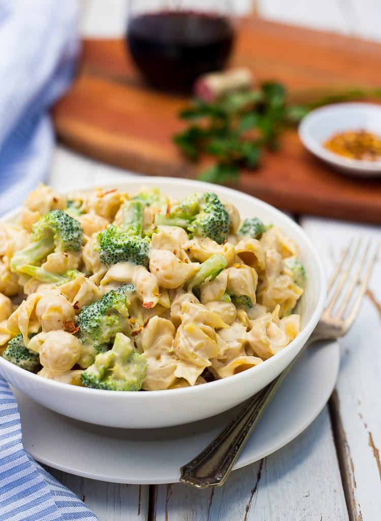 Alfredo pasta salad recipe