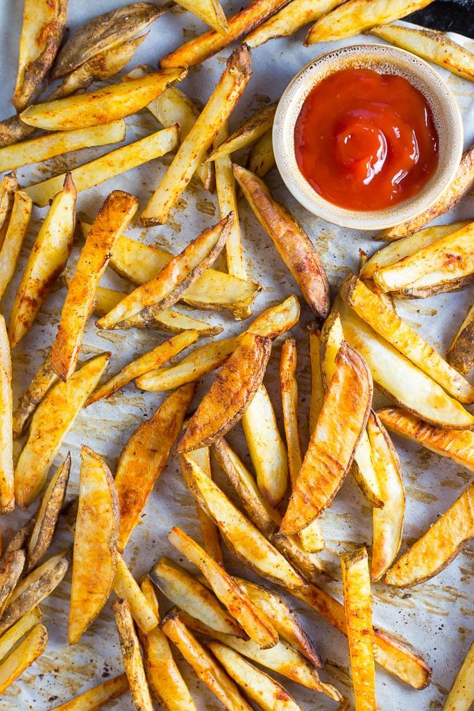 Crispy Oven Baked French Fries-9415