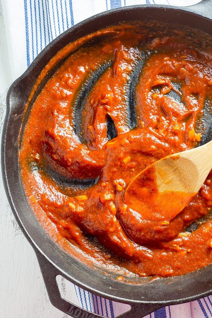 Vegetarian Sloppy Joes - BBQ Sauce