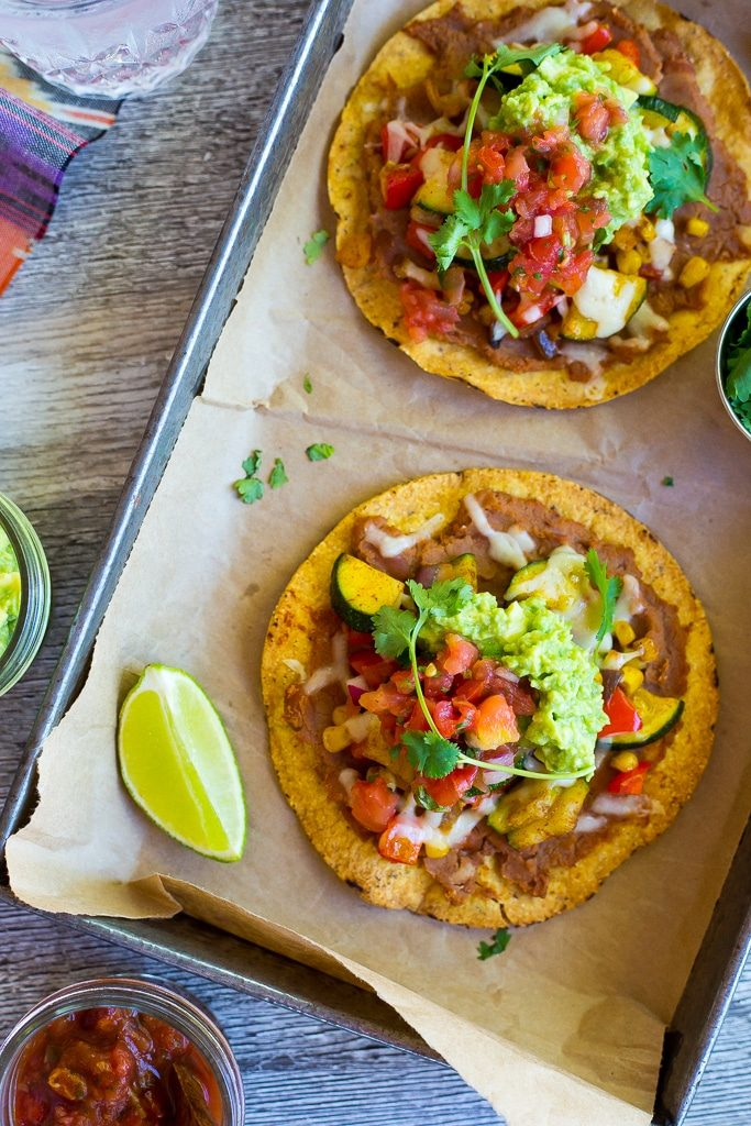 30-Minute Summer Vegetable Tostadas-4758