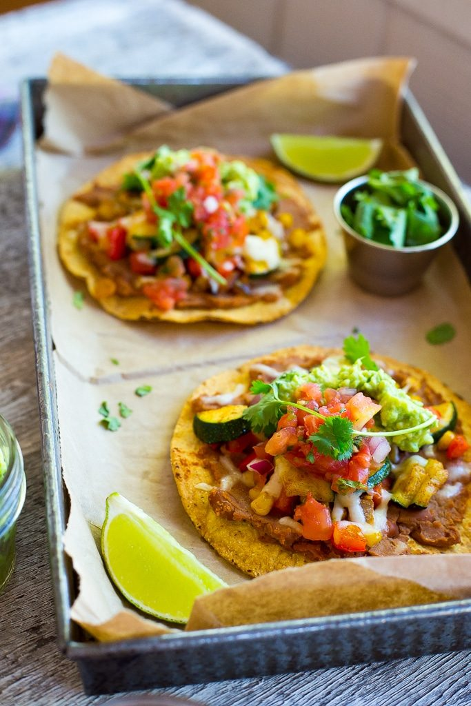 30-Minute Summer Vegetable Tostadas-4773