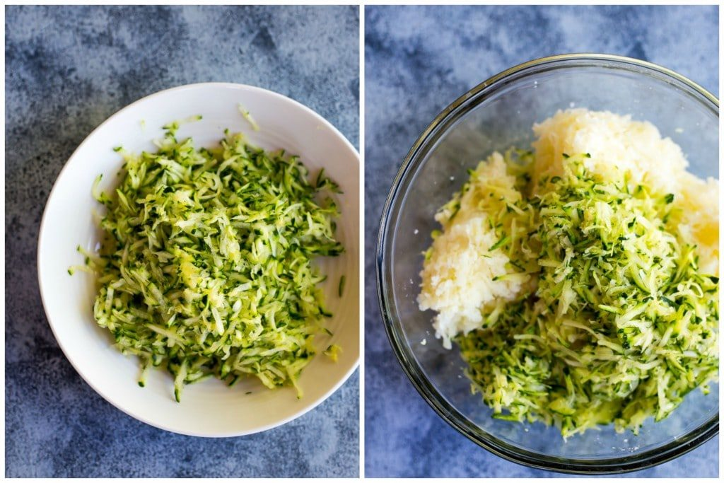 4 Ingredient Zucchini Tater Tots Step 1
