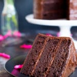 Gluten Free Three Layer Chocolate Cake