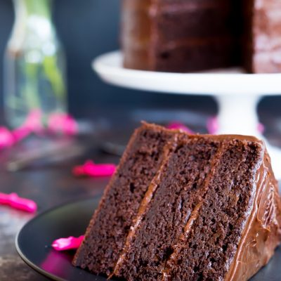Gluten Free Chocolate Cake (Three Layers)