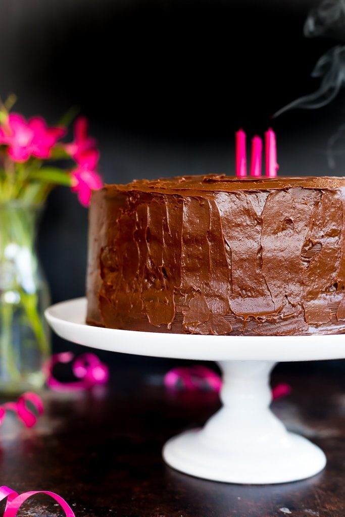 Gluten Free Three Layer Chocolate Cakes-2164