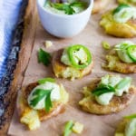 Crushed and Crispy Potatoes with Jalapeno Ranch