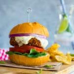 Sun-Dried Tomato and Basil Veggie Burgers