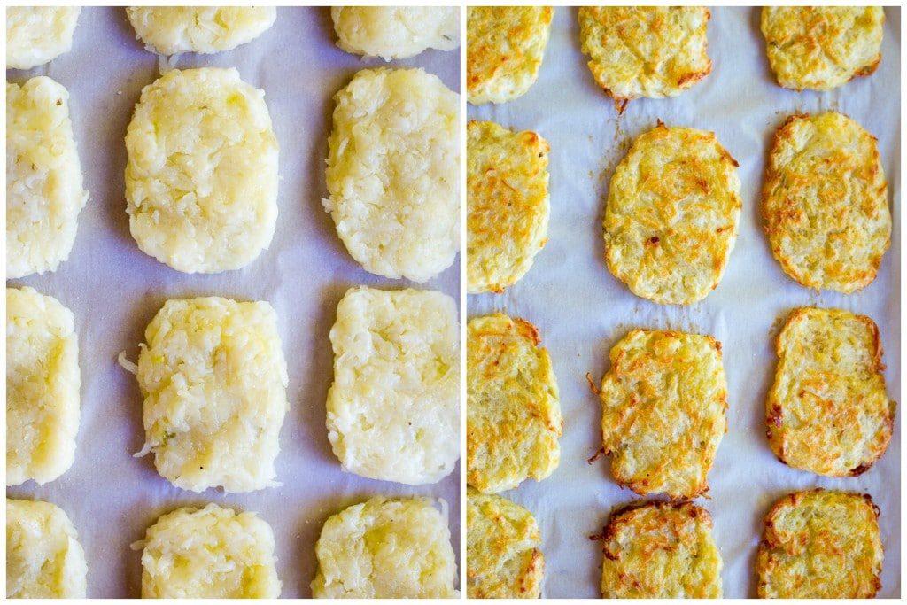3-Ingredient Baked Breakfast Hashbrowns