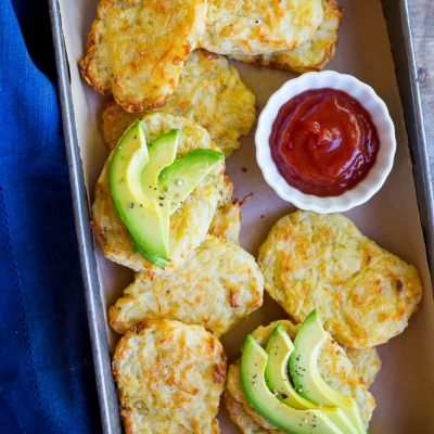 3-Ingredient Baked Breakfast Hash Browns