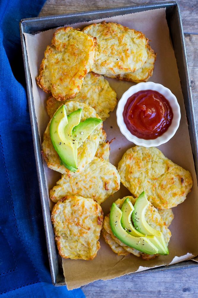 3-Ingredient Baked Breakfast Hashbrowns Main