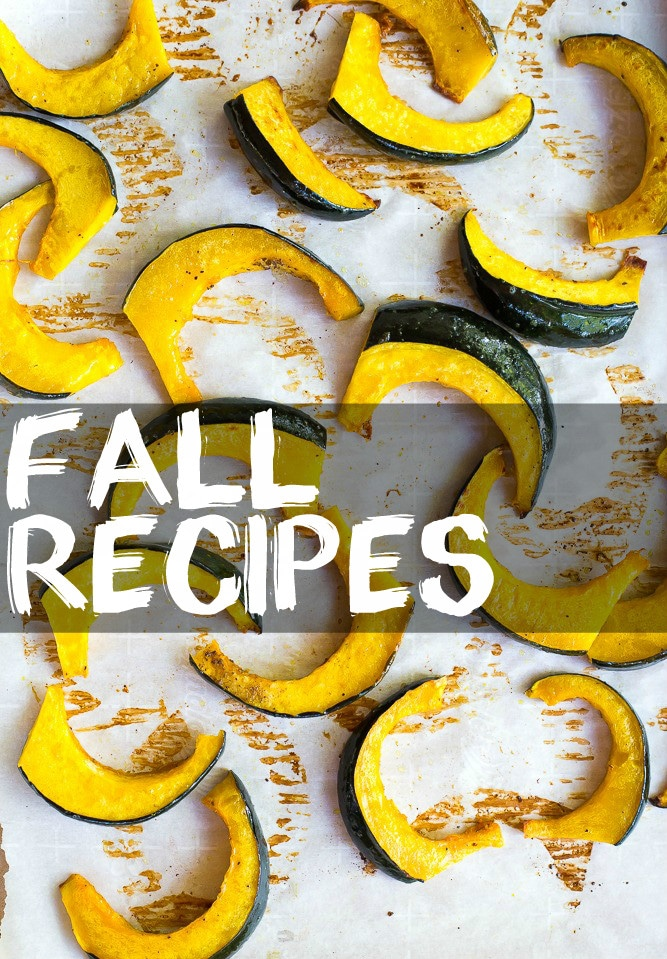 Fall Recipes Overlay