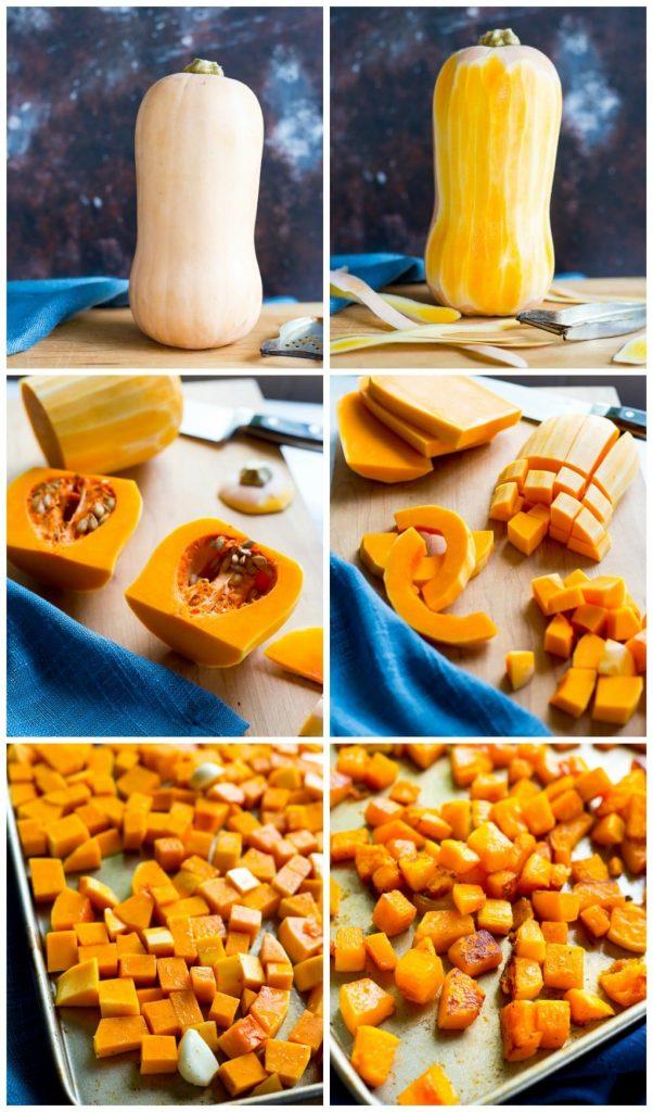 Vegan Butternut Squash Mac N' Cheese with Crispy Sage Breadcrumbs Steps