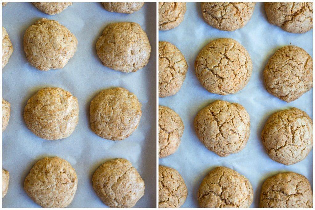 Gluten Free Cinnamon Roll Cookies with Cranberry Orange Glaze {vegan} Step 2