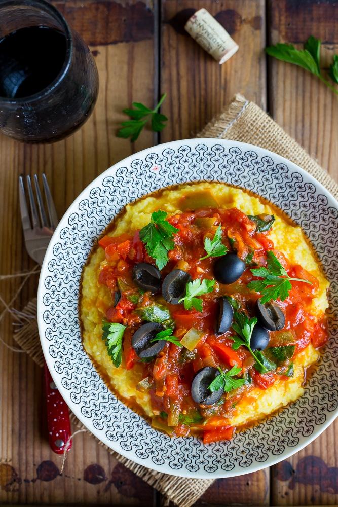 Pizza Polenta Bowls - Main