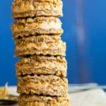 Double Peanut Butter Sandwich Cookies {vegan, gluten free}
