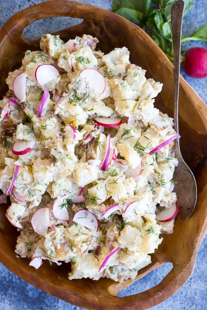 Salt and Vinegar Potato Salad-Main