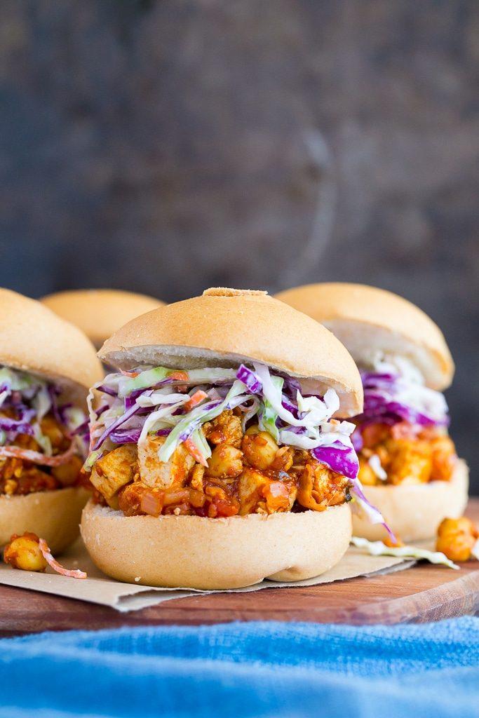 Tofu and Chickpea BBQ Sandwiches-4960