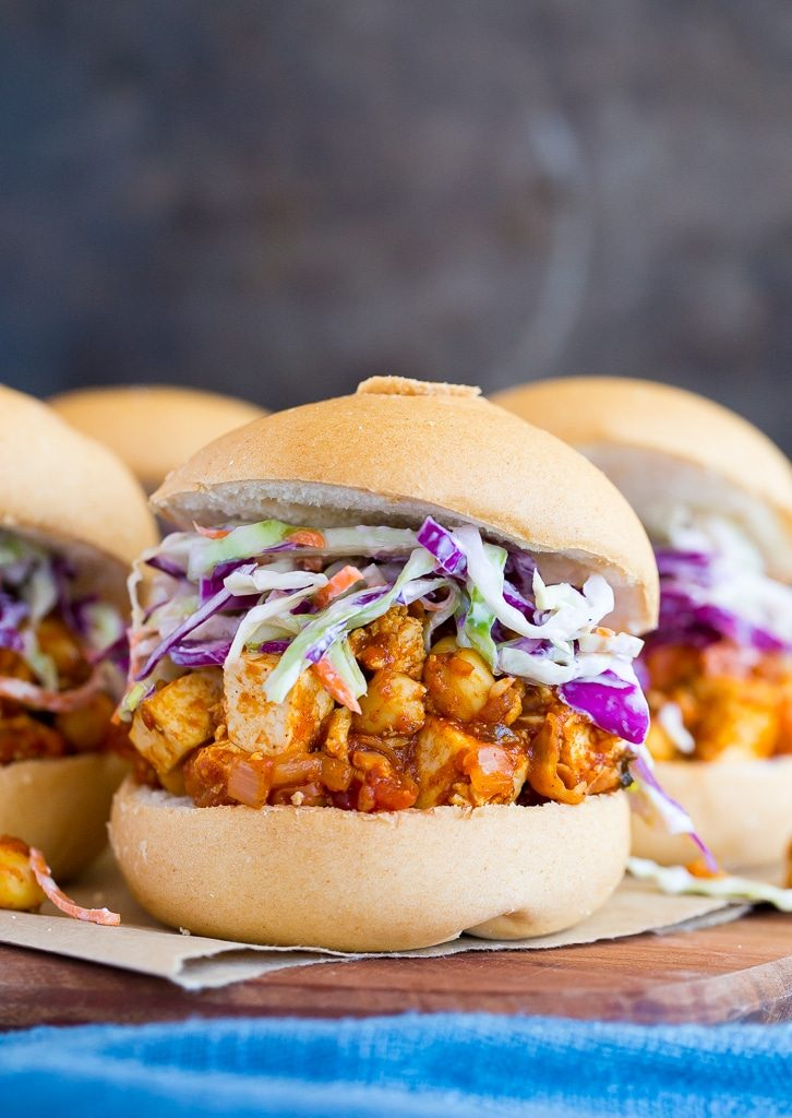 Tofu and Chickpea BBQ Sandwiches-4967