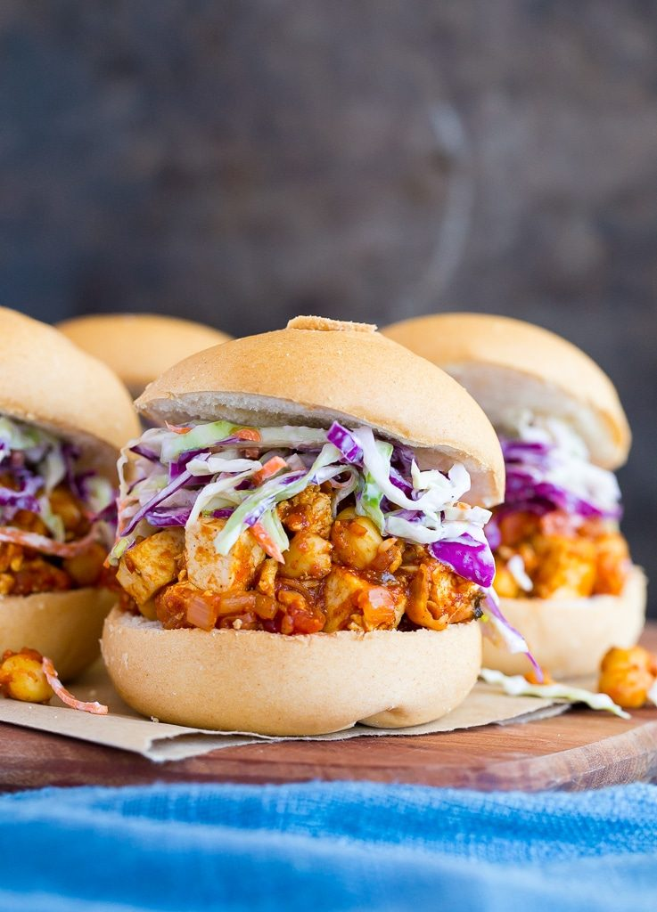 Tofu and Chickpea BBQ Sandwiches-4969