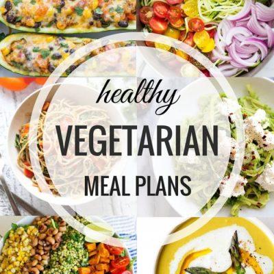Healthy Vegetarian Meal Plan – Week Seven