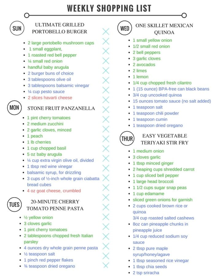 Meal-Plan-Shopping-List