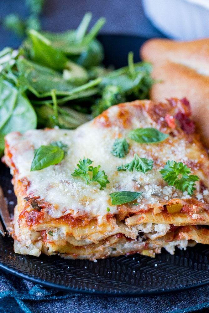 The Best Vegetarian Lasagna She Likes Food