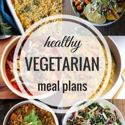 Healthy Vegetarian Meal Plan – Week Twenty One