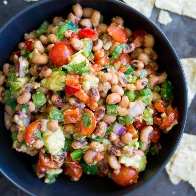 Southwestern Black Eyed Pea Salad