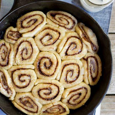 The Best Gluten Free Cinnamon Rolls {Vegan}