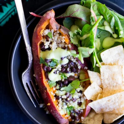 Make Ahead Tex Mex Sweet Potato Lunch Bowls
