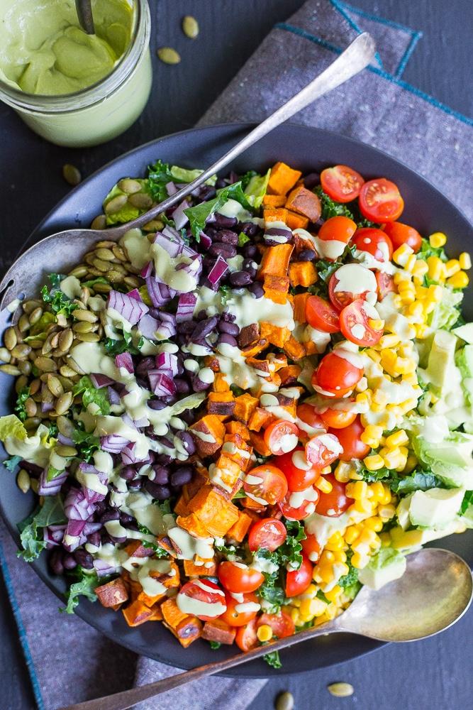 30 Vegetarian Main Dish Salad Recipes She Likes Food