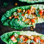 Healthy Taco Chickpea Lettuce Wraps