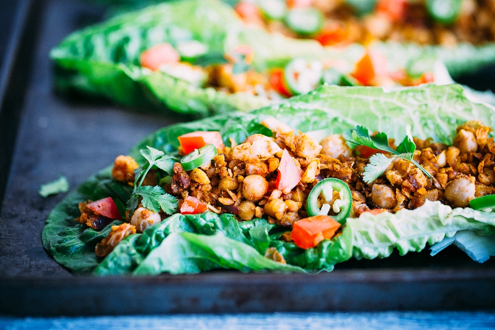 Healthy Taco Chickpea Lettuce Wraps1-8663