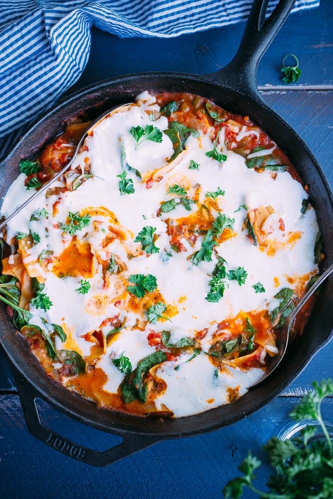 One pan lasagna-8683