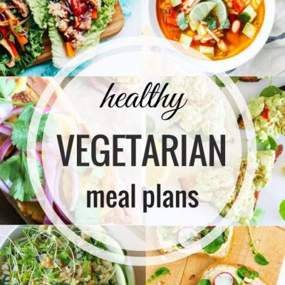 Healthy Vegetarian Meal Plan – Week 41