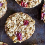 Healthy Baked Oatmeal Cups - 6 Ways-9439