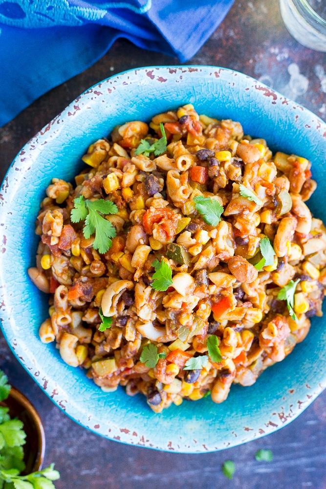 One-Pot-Loaded-Vegetarian-Chili-Mac-87541