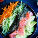 Veggie Sushi Bowls with Quick Pickled Radishes - Main-9899