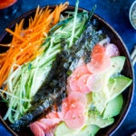 Veggie Sushi Bowls with Quick Pickled Radishes
