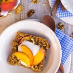 Peach-Oatmeal-Bake-with-Whipped-Coconut-Cream-8996-682x1024