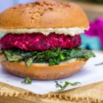Roasted-Beet-Burgers-with-Chickpeas-Brown-Rice-A-Lemon-Thyme-Tahini-Sauce-3946-725x1024