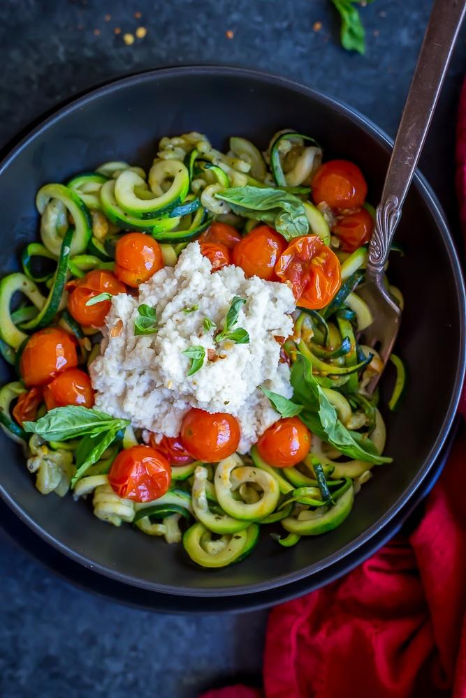 15 Minute Zucchini Noodle Bowls-6493