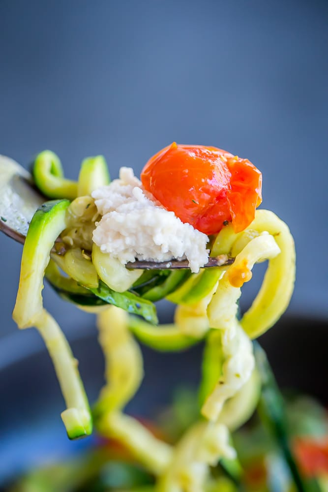 15 Minute Zucchini Noodle Bowls-6509